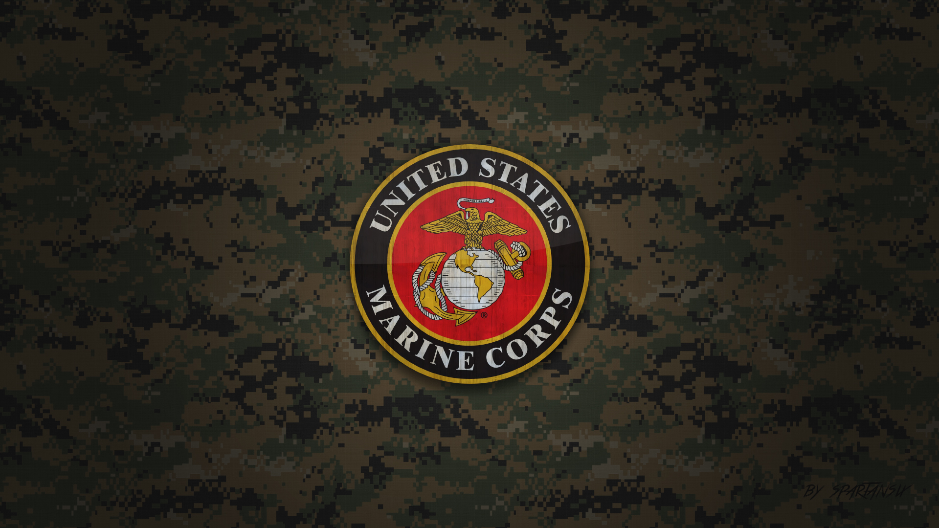 us marine corps wallpaper by spartansix by spartansix on