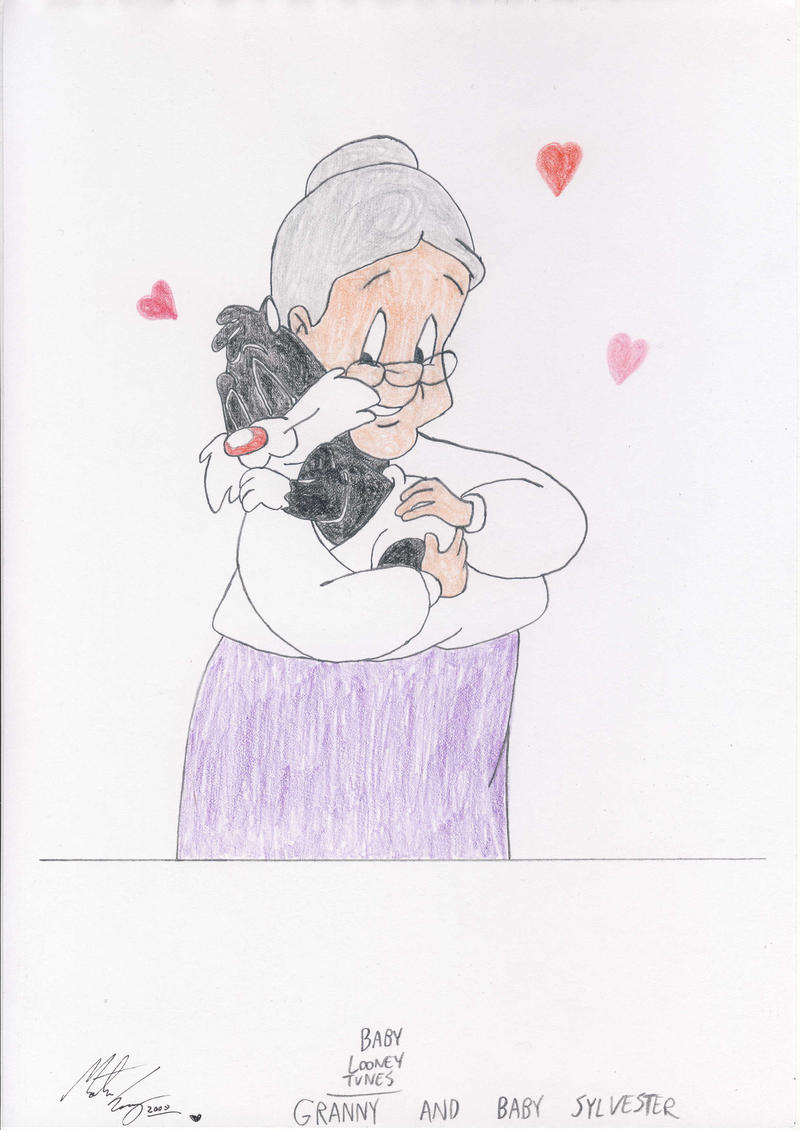 Granny and Baby Sylvester by MortenEng21