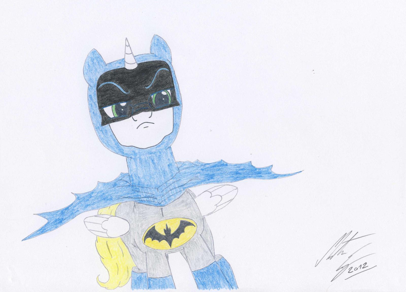 MLP:FiM - Batpony by MortenEng21
