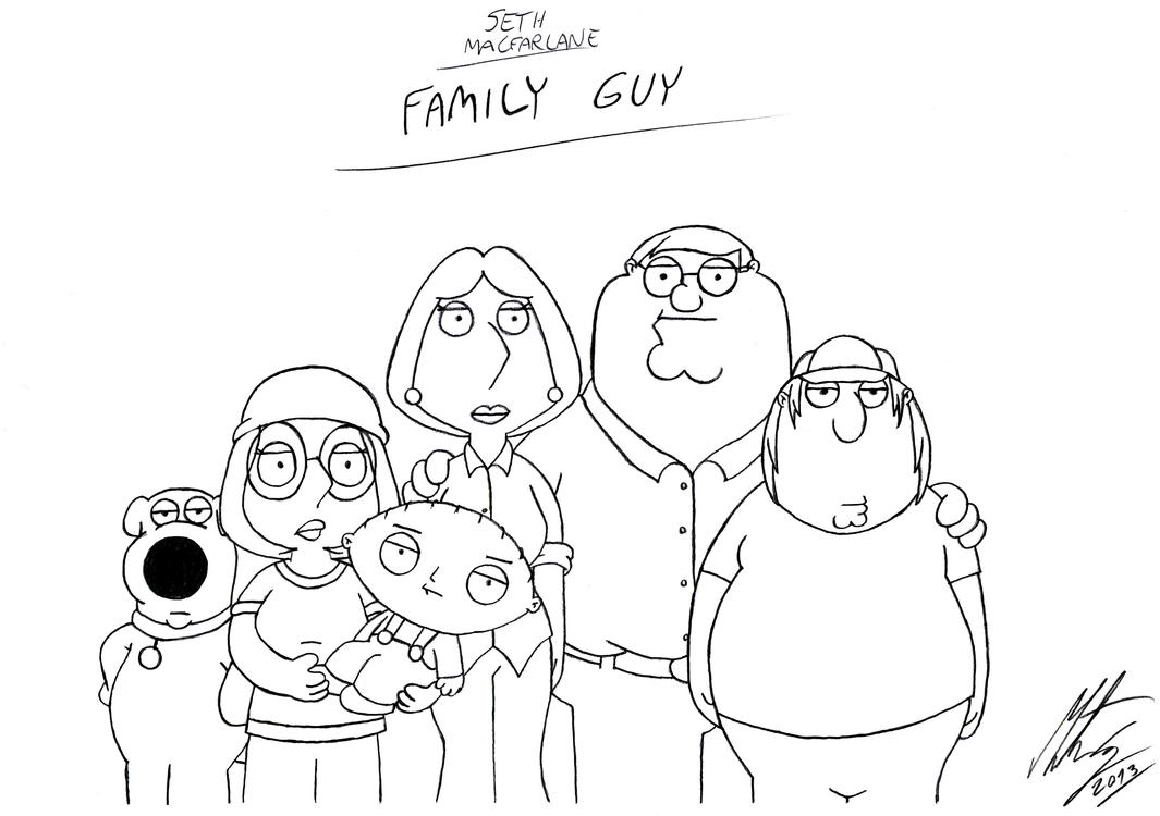 how to draw lois from family guy