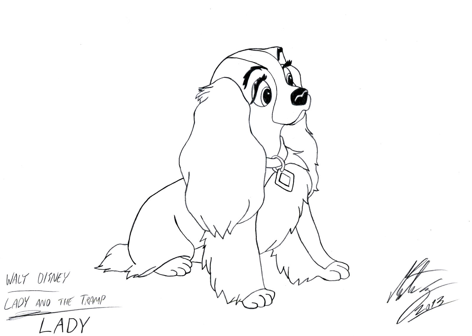 Lady and the Tramp - Lady by MortenEng21 on DeviantArt