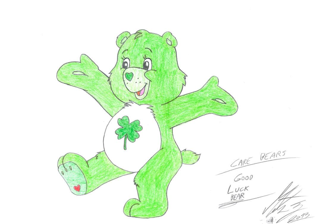 Good Luck Care Bear Care Bears Good Luck Bear by