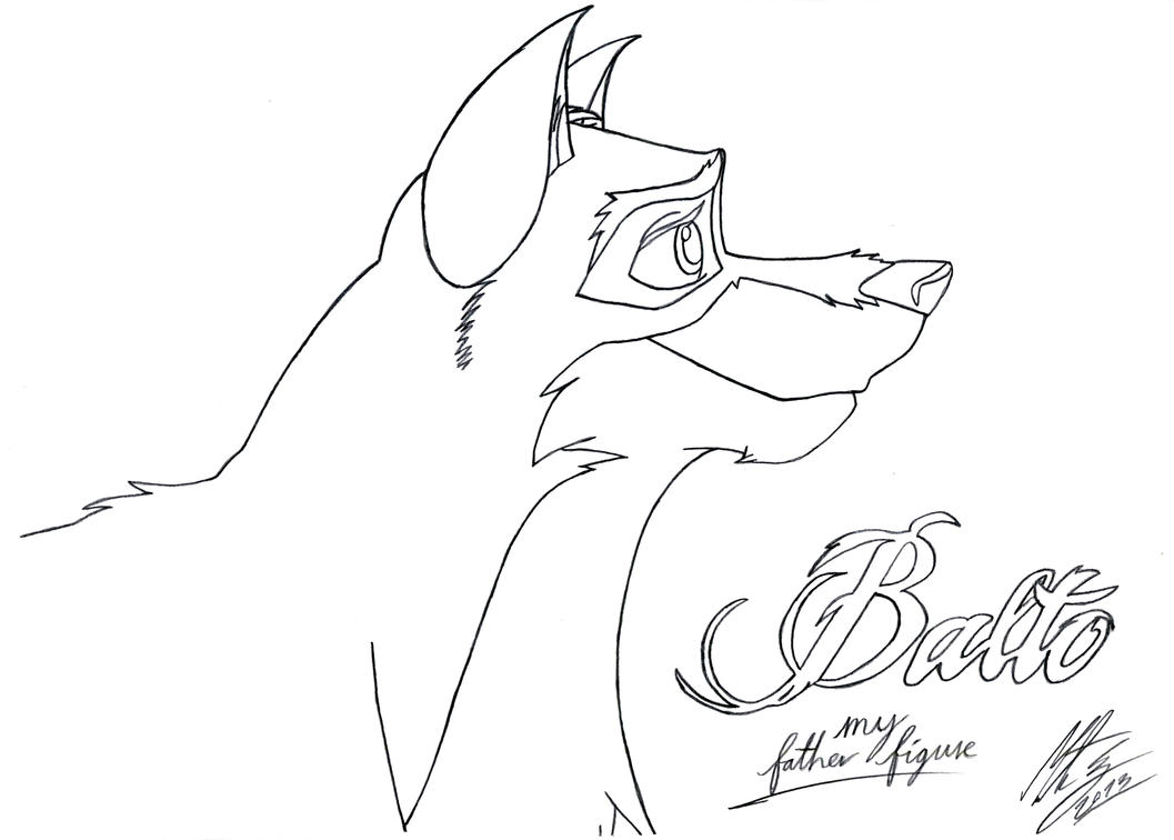 balto coloring pages online - photo#3