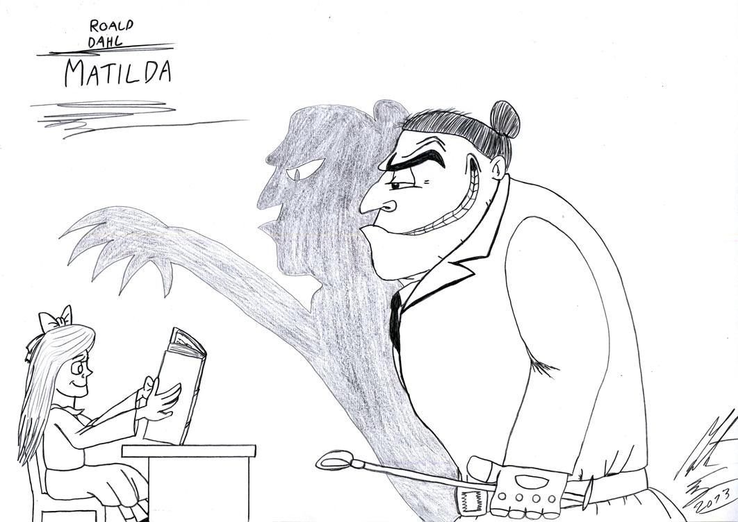 Roald Dahl - Matilda by MortenEng21 on DeviantArt