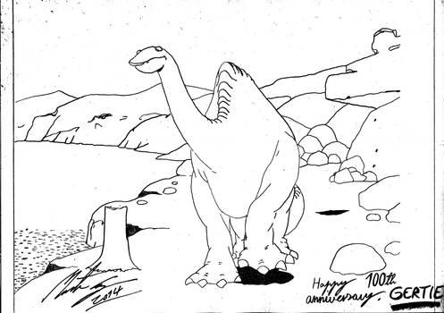 Winsor McCay - Gertie the Dinosaur by MortenEng21
