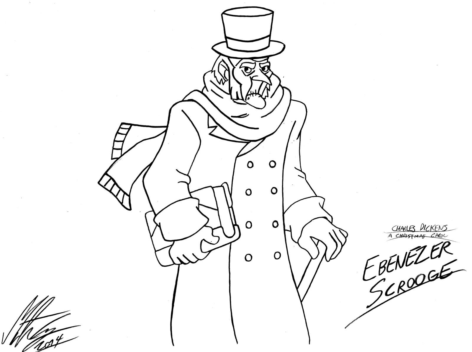 Uncategorized A Christmas Carol Coloring Pages a christmas carol ebenezer scrooge by morteneng21 on deviantart morteneng21