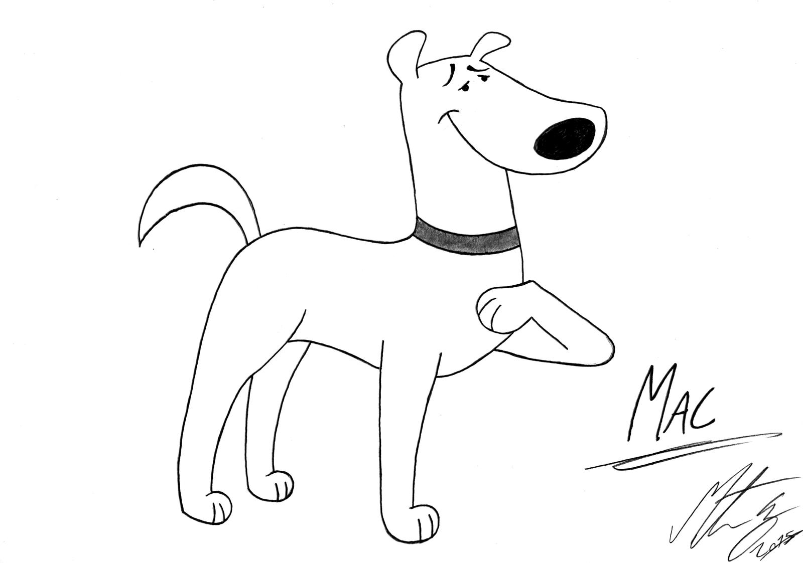 Clifford The Big Red Dog Mac By Morteneng21 On Deviantart