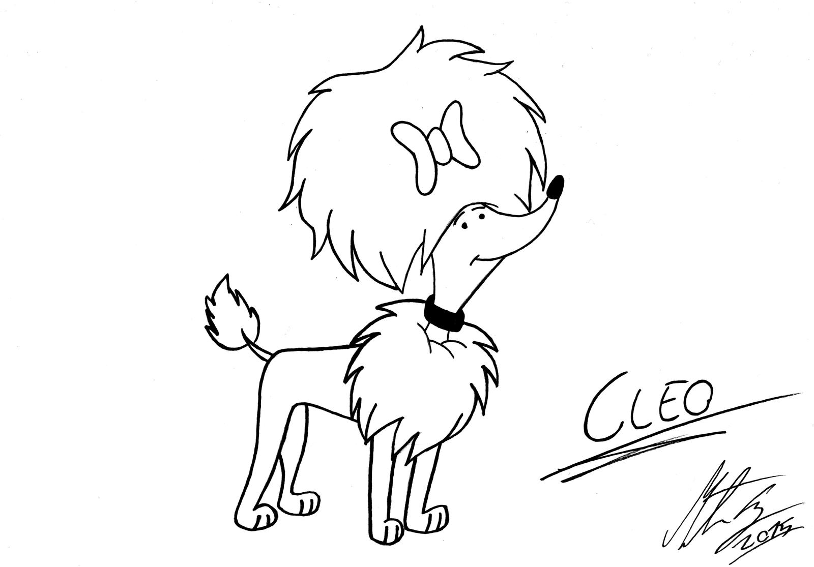 Clifford Cleo Coloring Pages related Keywords and Tags