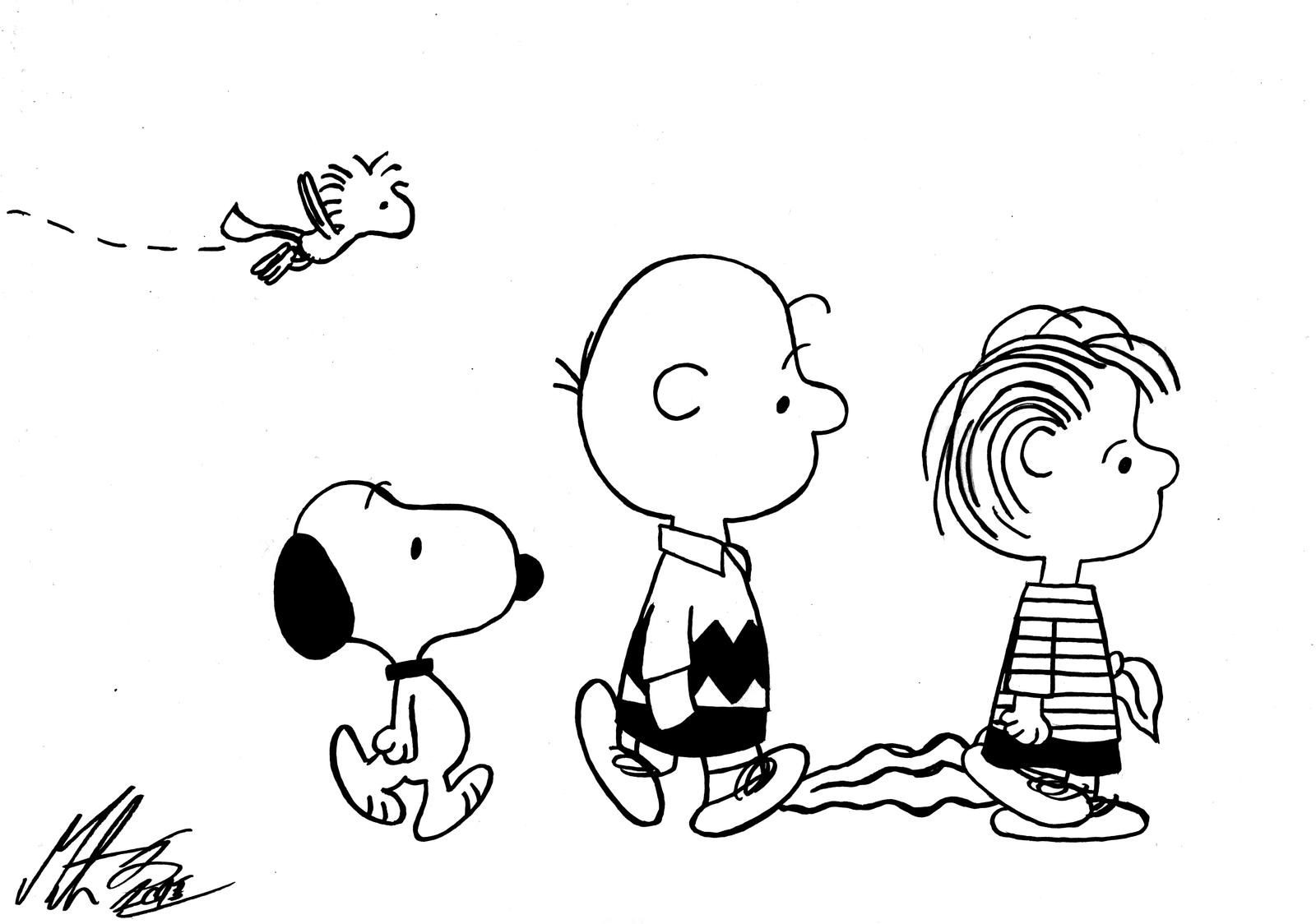 Snoopy, Woodstock, Charlie And Linus By