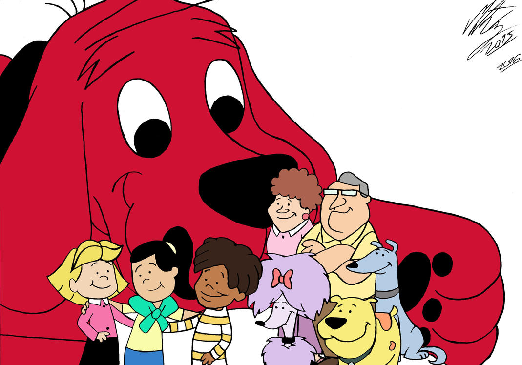 I Love Clifford The Big Red Dog