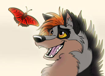Kitara and The Butterfly by MortenEng21