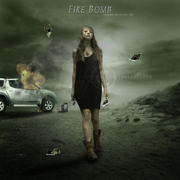 Fire Bomb by NarsisBlack