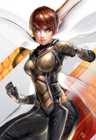The wasp by MOIDUKDUM