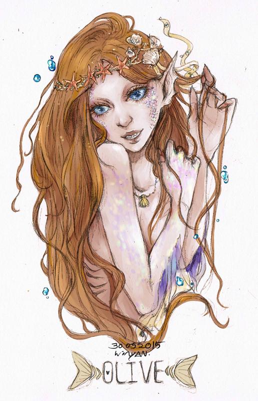 Mermaid by 25468977