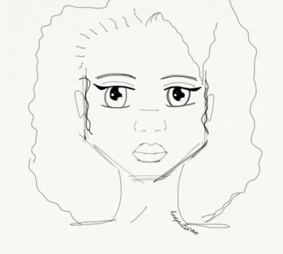 Rose Pentarose sketch by fireprouf