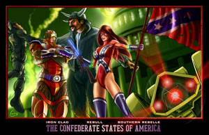 Confederate States of America by War-Patriot