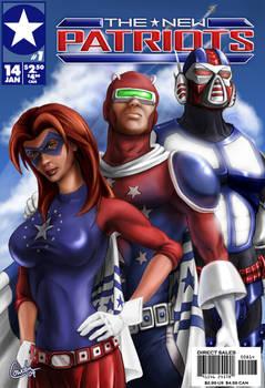 New Patriots Comic Cover