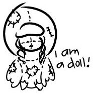 Quack Doll by bubblepopgum