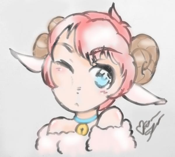 Lamb? Sheep? by Kouramiki