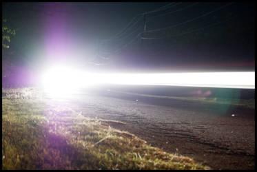 Weatherford Lake at Night -2-