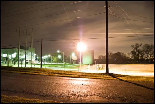 Weatherford Lake at Night -5-