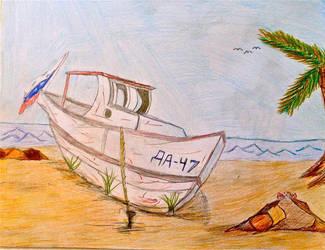 Beached Loadka by BravoKrofski