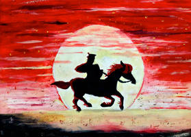 The Samurai's Journey Begins by BravoKrofski