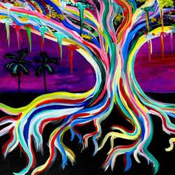 Rainbow Tree by BravoKrofski
