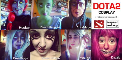 DOTA2 make-up