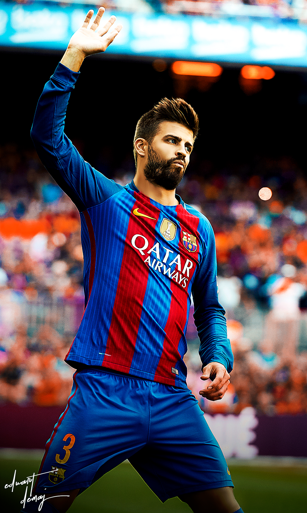 Gerard Pique Edit by Eduart03 on DeviantArt