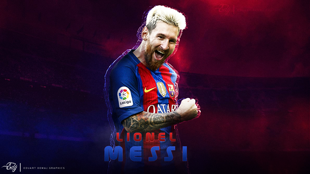 Lionel Messi Wallpaper 2016 17 By Eduart03