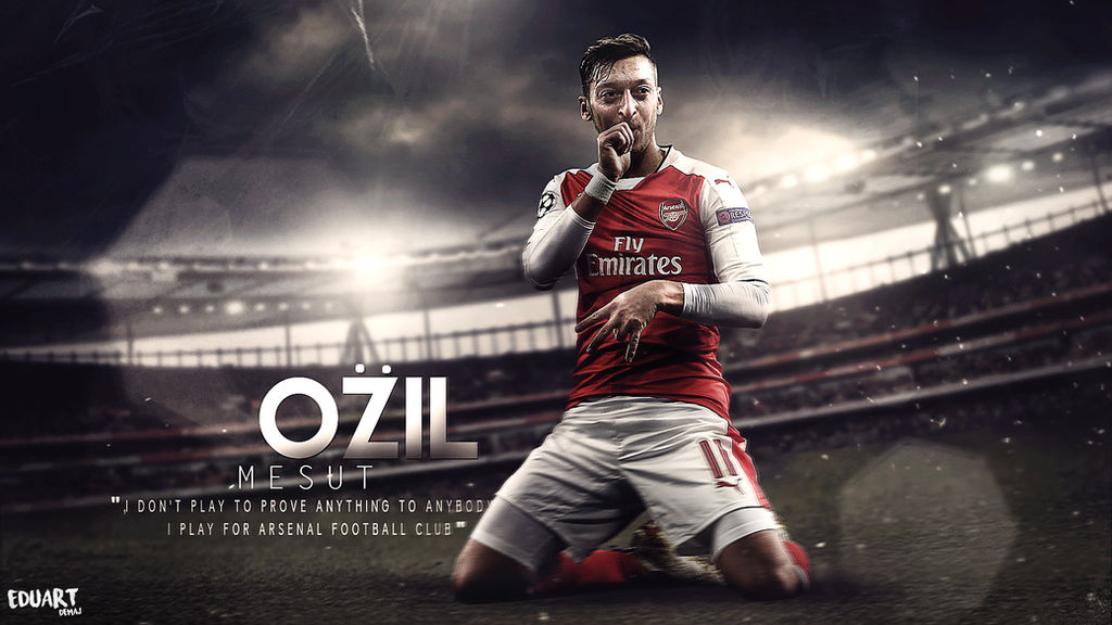 Mesut Ozil Wallpaper 2016/17 By Eduart03 On DeviantArt
