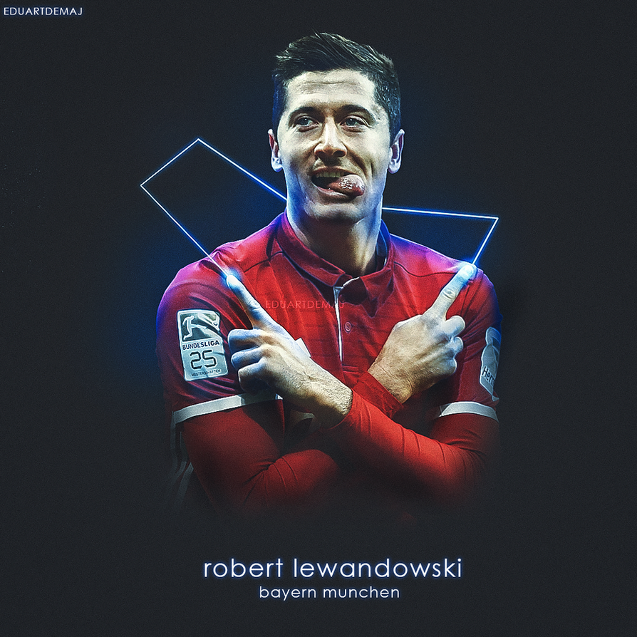 Robert Lewandowski by Eduart03 on DeviantArt