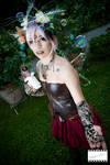 Uranya the steampunk fairy - Original cosplay