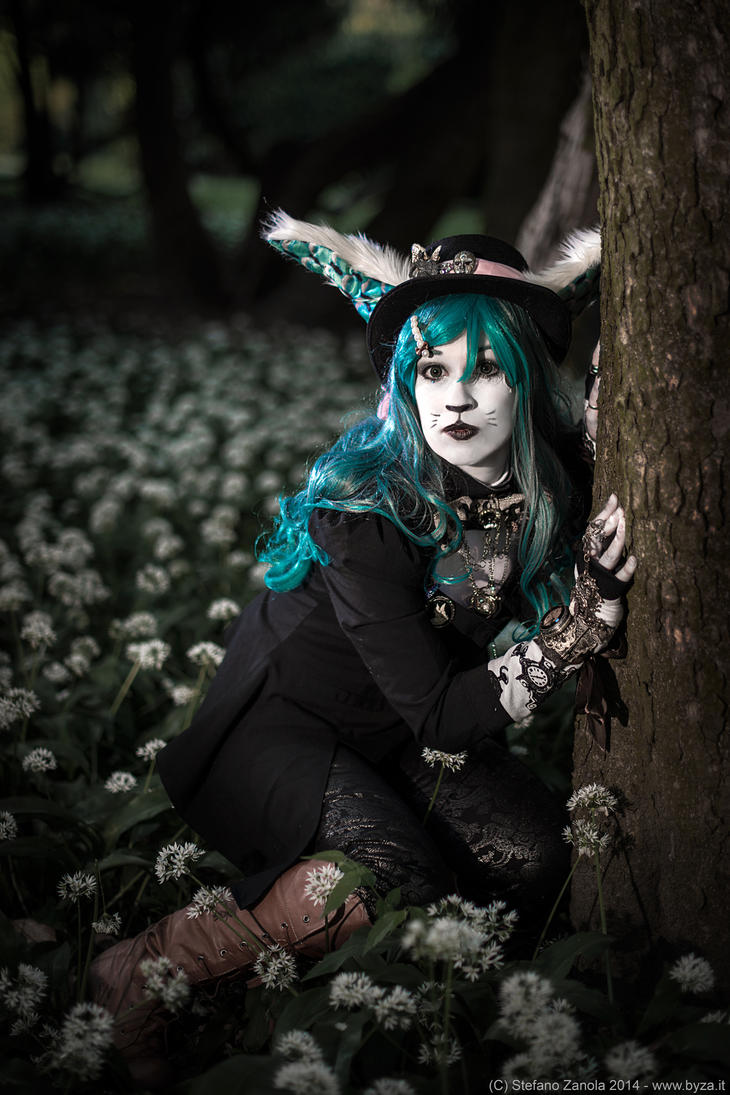 Steampunk White Rabbit - Original cosplay #3 by ...