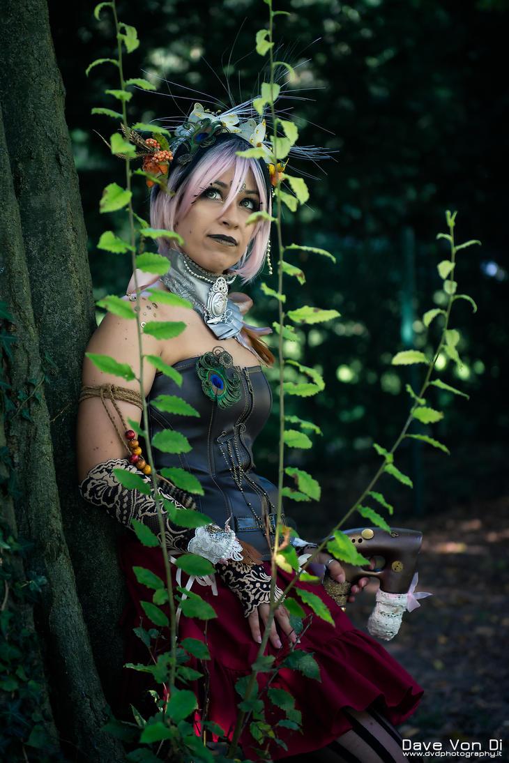 Uranya the steampunk fairy - Original cosplay #2 by TwiSearcher85