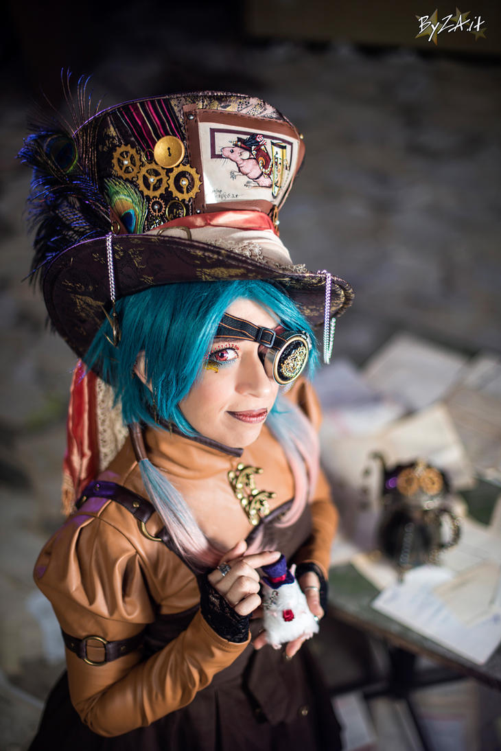 Steampunk Mad Hatter from Alice in Wonderland - ID by TwiSearcher85