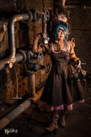 Steampunk Mad Hatter - Original cosplay #3 by TwiSearcher85
