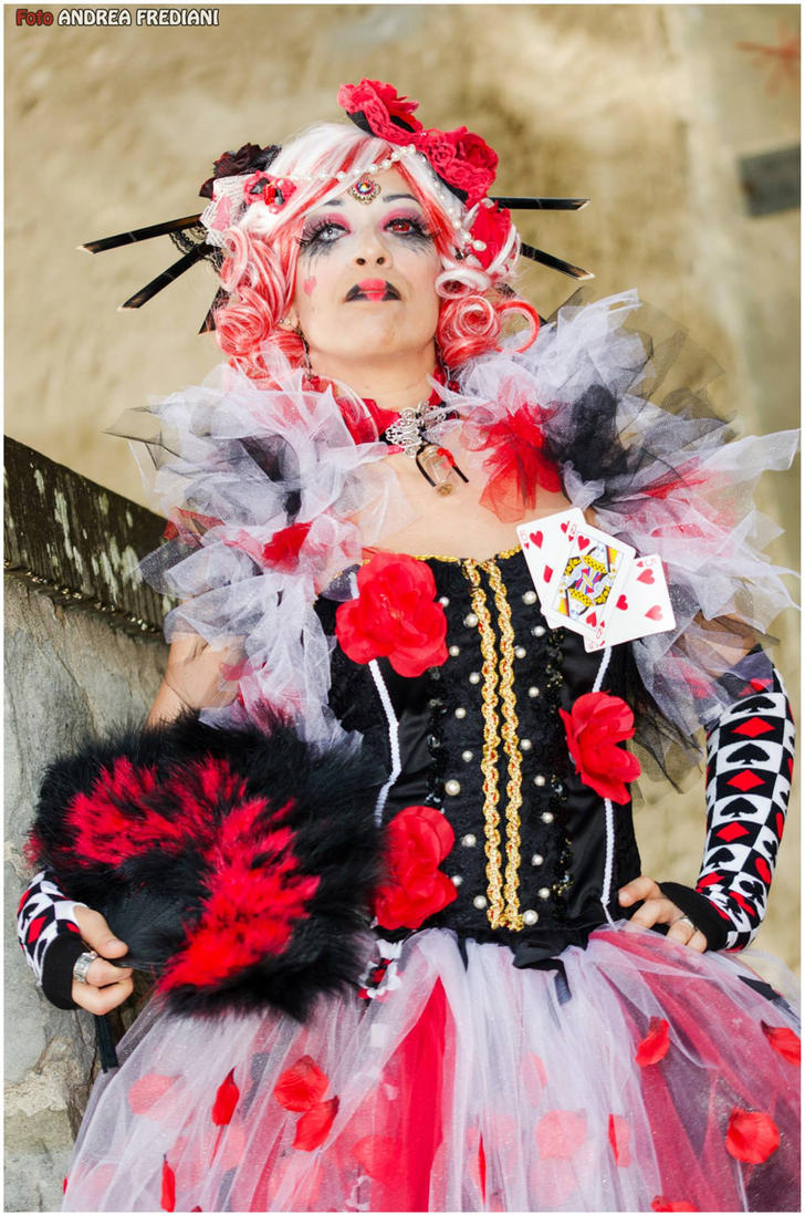 Steampunk Queen of Hearts - Original cosplay #3 by TwiSearcher85