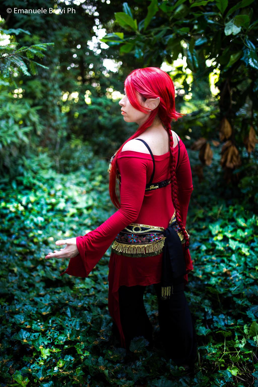 Elenie the Fire elf - Original Cosplay by TwiSearcher85