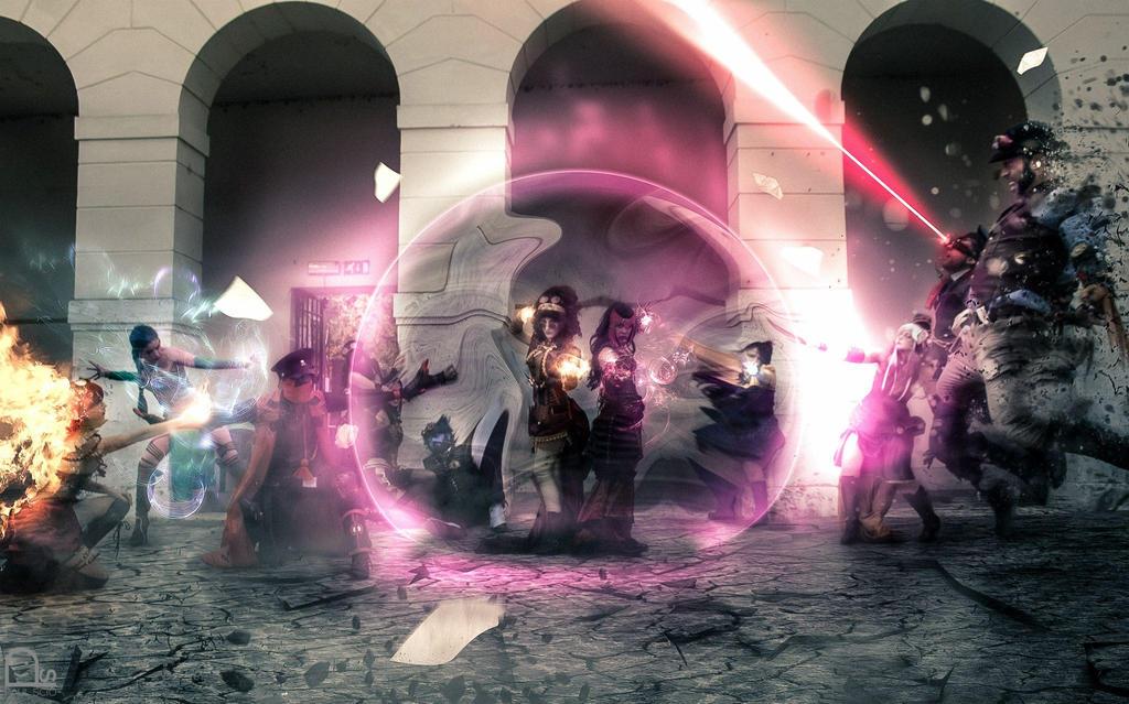 SteamX-men Italian cosplay group by TwiSearcher85