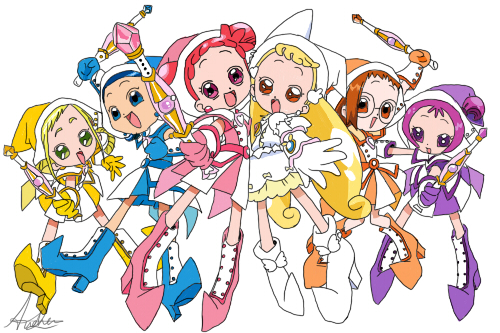 Magical Doremi by andrewsmonster