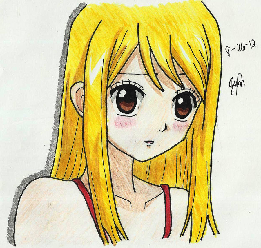 Fairy tail lucy by jhonakitty on deviantart - Lucy fairy tail drawing ...