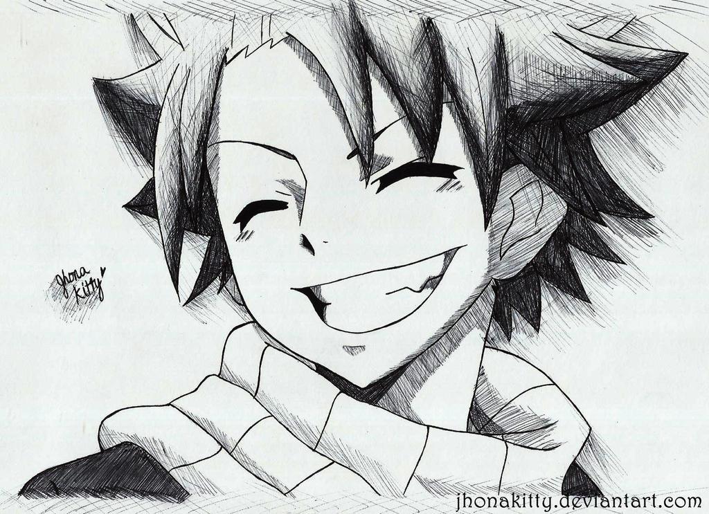 Fairy Tail Natsu By Jhonakitty