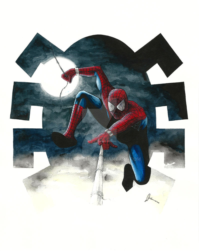 Spiderman by kentarcher