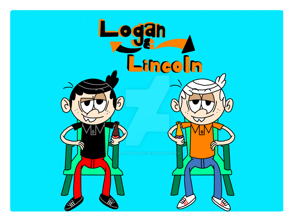 Logan and Lincoln by ArtIsMyMarc