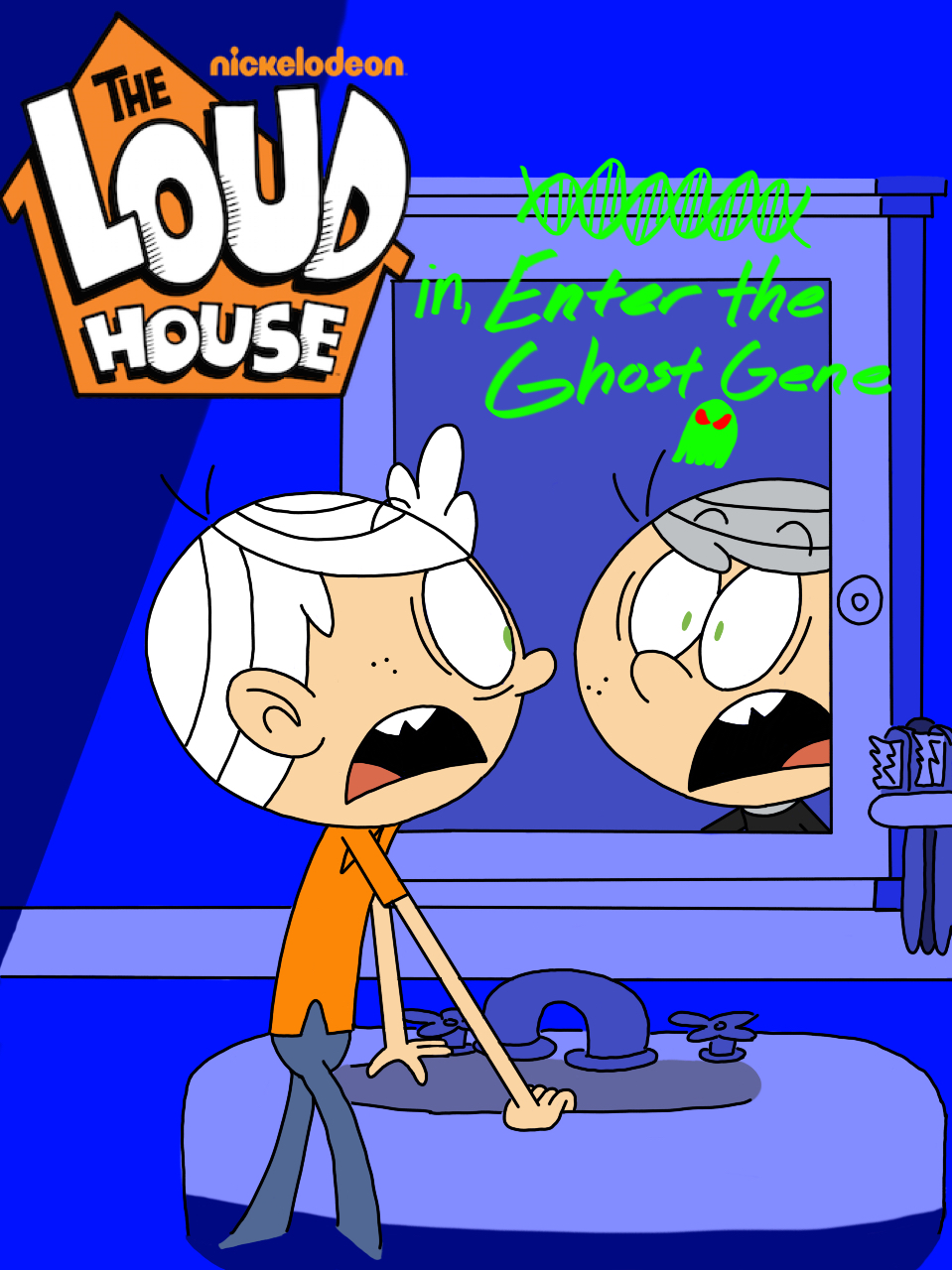 The Loud House: Enter the Ghost Gene by ArtIsMyMarc on DeviantArt