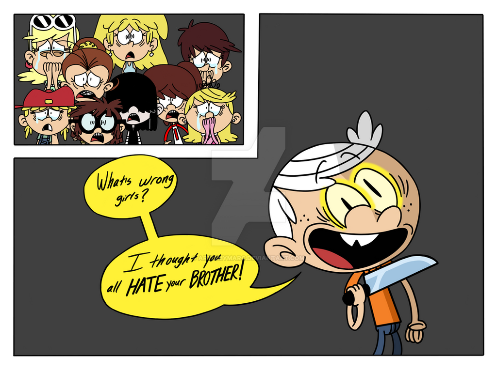 The Loud House: Bill Cipher's New Puppet (Preview) by ArtIsMyMarc on