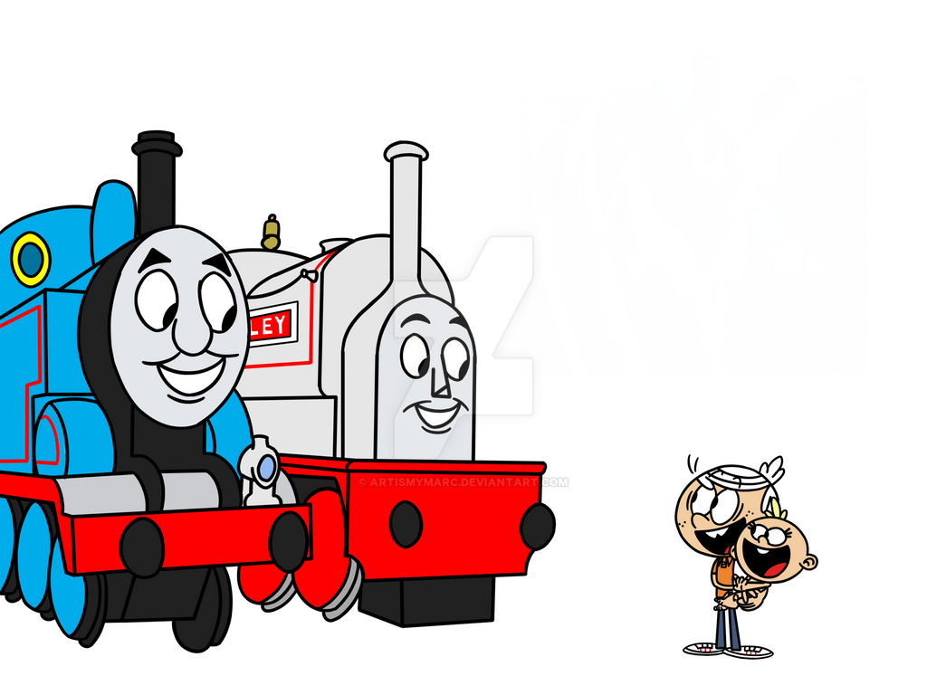 Thomas and stanley meet lincoln and lily loud by artismymarc on thomas and stanley meet lincoln and lily loud by artismymarc m4hsunfo