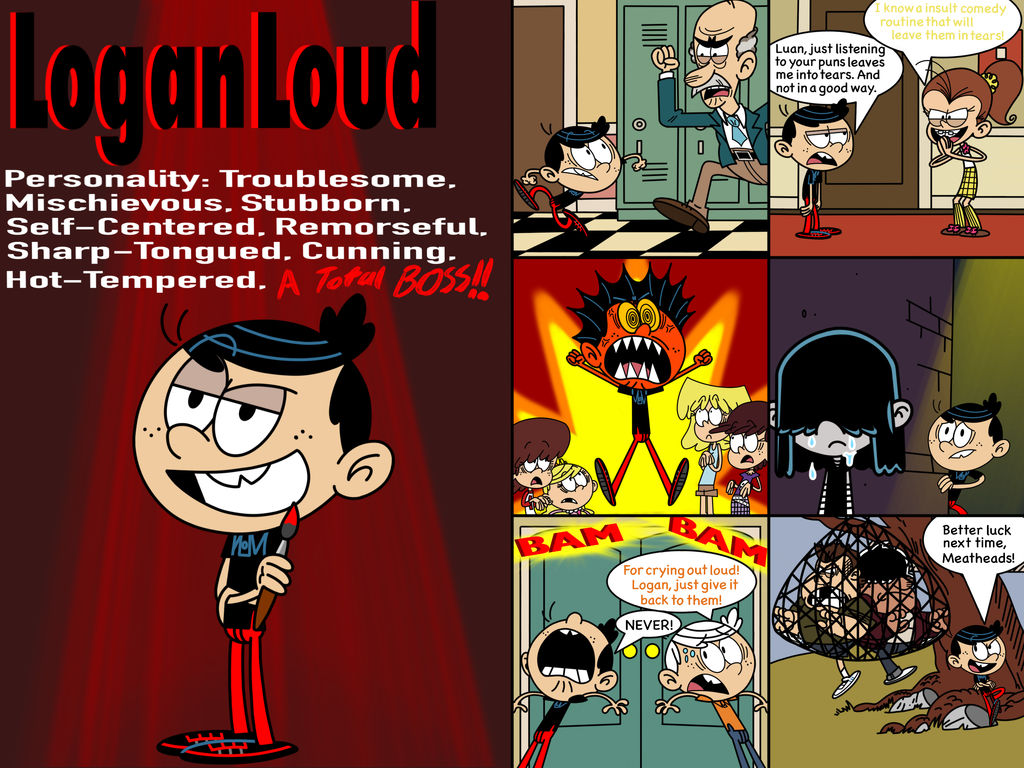 Know more about Logan Loud by ArtIsMyMarc